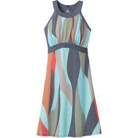 Prana Calexico Dress Women charcoal wavy